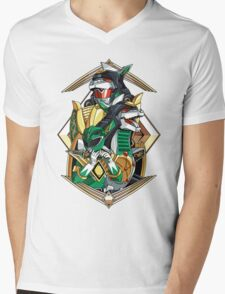 Green Legend Mens V-Neck T-Shirt