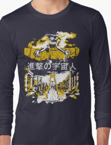 Attack on Moon - Alien Advance Long Sleeve T-Shirt