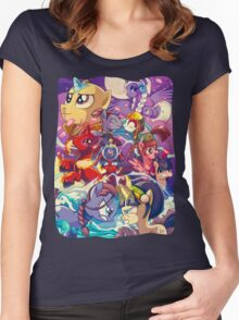 Avatar, The Last Air Unicorn Women's Fitted Scoop T-Shirt