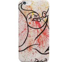 Melody series, original watercolors iPhone Case/Skin