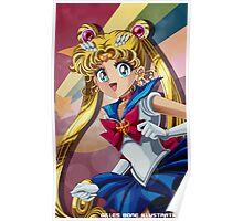 Sailor Moon - The Moonlight Reflection Poster