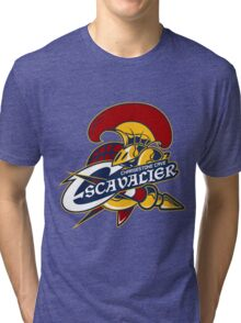 PokeSports - Chargestone Cave Escavalier Tri-blend T-Shirt