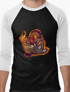 Charmander plays LSDJ Men's Baseball ¾ T-Shirt
