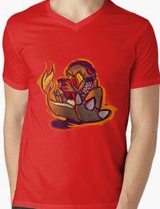 Charmander plays LSDJ Mens V-Neck T-Shirt