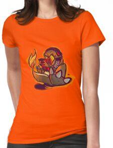 Charmander plays LSDJ Womens Fitted T-Shirt