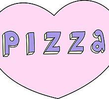 Pizza Love by Stephanie Komen