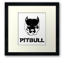 pit bull - pitbull terrier Framed Print