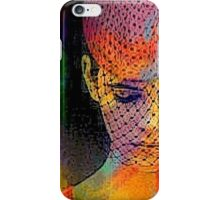 Thinly Veiled Contempt iPhone Case/Skin