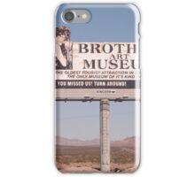 Brothel Museum  iPhone Case/Skin
