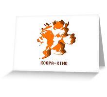 Bowser Greeting Card