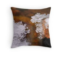 Ice Chute Throw Pillow
