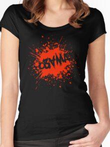 obama : splatz Women's Fitted Scoop T-Shirt