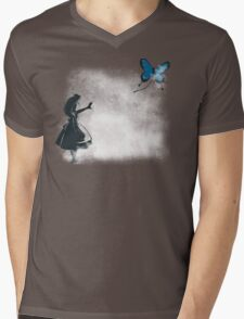 Whooo are you? Mens V-Neck T-Shirt