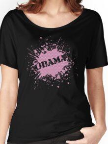 obama : splatz Women's Relaxed Fit T-Shirt