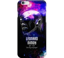 In Memory of Leonard Nimoy iPhone Case/Skin