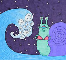 tidal snail by monstermolotov