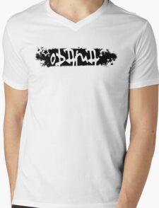 obama : scratched out Mens V-Neck T-Shirt