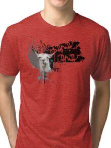 obama llama Tri-blend T-Shirt