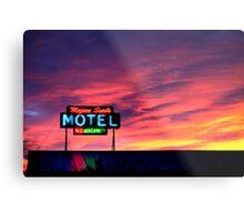 Motel- No Vacancy Metal Print