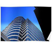 SKY BLUE SKY SCRAPPER Poster