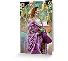 The L;ords Lute. Greeting Card