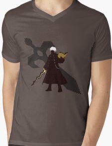Robin (Male, Fire Emblem Version) - Sunset Shores Mens V-Neck T-Shirt