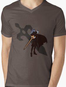 Lucina (Fire Emblem version) - Sunset Shores Mens V-Neck T-Shirt