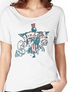 obama : freedom scrollz Women's Relaxed Fit T-Shirt