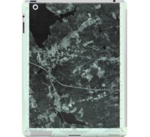 Maine USGS Historical Map Stetson SW 807211 1975 24000 iPad Case/Skin
