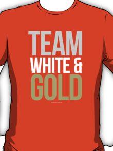 Team White and Gold Internet Dress Meme T-Shirt