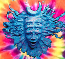 Shpongle tie dye  Sticker