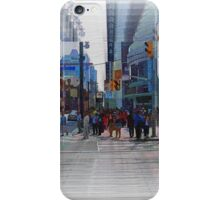Toronto Dundas Square 3-Available As Art Prints-Mugs,Cases,Duvets,T Shirts,Stickers,etc iPhone Case/Skin