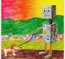 Robot Dog Walker by Chris Kreuter