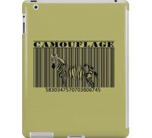 barcode camouflage iPad Case/Skin