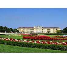Schönbrunn Palace Photographic Print