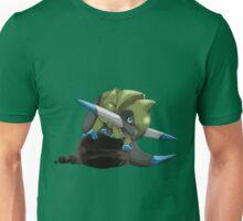 Fraxure Perching on Rocks Unisex T-Shirt