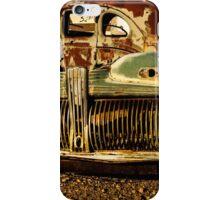 Car Rust iPhone Case/Skin