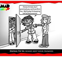 Dating Tip #4: Keep promises by Richard Bell
