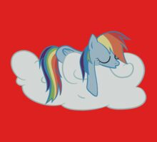 Rainbow Dash: Head in the Clouds Kids Clothes