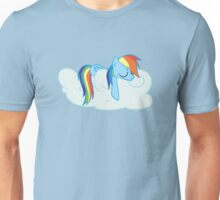 Rainbow Dash: Head in the Clouds Unisex T-Shirt