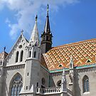 Matthias Church by Paula Bielnicka