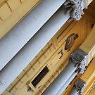 Columns - Budapest, Hungary by Paula Bielnicka