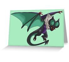 Flying Attack by a Fiercesome Noivern Greeting Card
