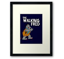Walking Fred Framed Print
