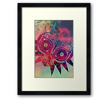 Watercolored Majora Framed Print