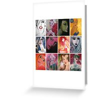 Femme Fatale Greeting Card