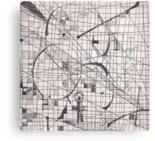 SPACE WALK(C2013) Canvas Print