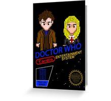 NINTENDO: NES DOCTOR WHO  Greeting Card