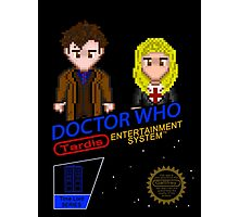 NINTENDO: NES DOCTOR WHO  Photographic Print