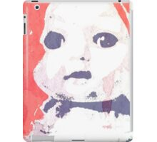 Scary Doll Screenprint #4 iPad Case/Skin